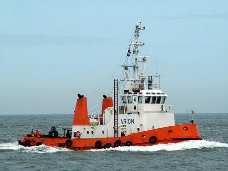 Arion, Tugboat, Ship, Vessel, Navigation, Nautical
