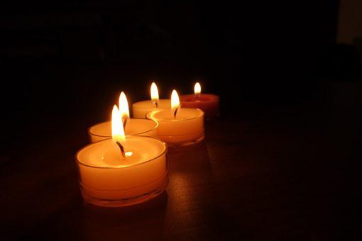 Candles, Candlelight, Light, Wax, Candlestick, Wick