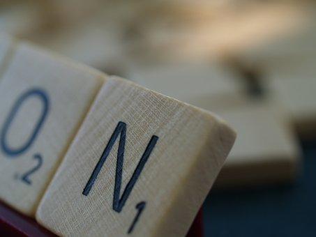 Scrabble, Letter, Board Game, Word Stone, Letter Stone