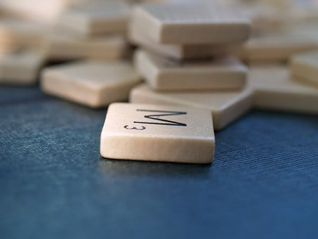 Scrabble, Letter, M, Word Stone, Letter Stone
