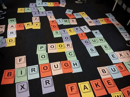 Scrabble, Game, Letters, Words, Read, Learn