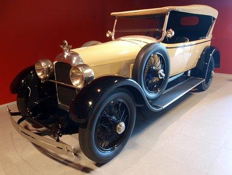 Duesenberg Touring, 1923, Car, Automobile, Vehicle