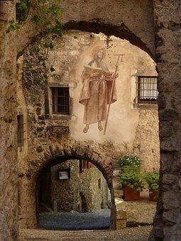 Alley, Archways, Passage, Road, Medieval Village