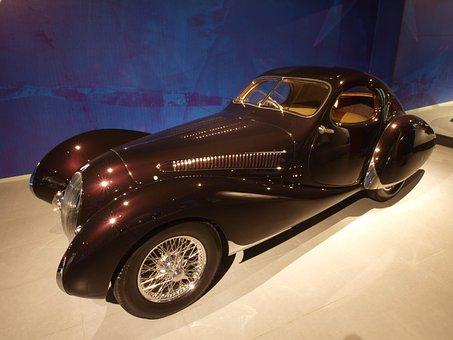 Talbot Lago 1937, Car, Automobile, Vehicle