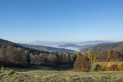 Beskid Sądecki, Autumn Gold, Autumn In The Mountains