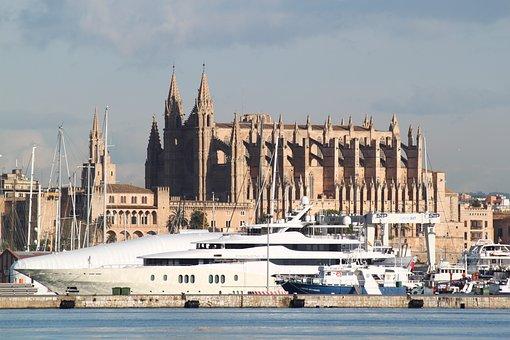 Palma De Mallorca, Cathedral, Palma, Mallorca, City