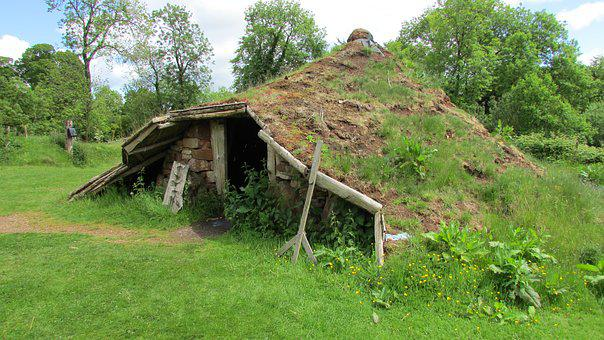 Iron Age Hut, Round House, Caveman, Underground