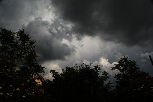 Cloud, Storm, Rain, Clouds, Sky, Weather