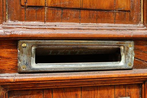 Mail Slot, Mail, Letters, Correspondence, Postbox