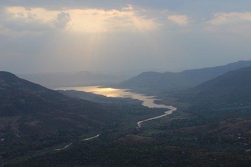 Sunrise, Mahabaleshwar, Dam Backwater