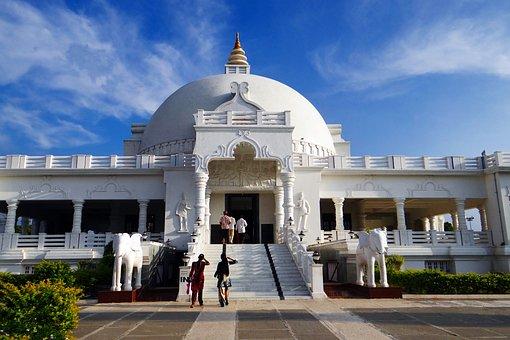 Buddha Vihar, Dome, Gulbarga, Karnataka, India