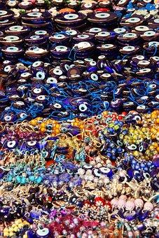 Amulet, Bad, Blue, Colorful, Decoration, Evil, Eye