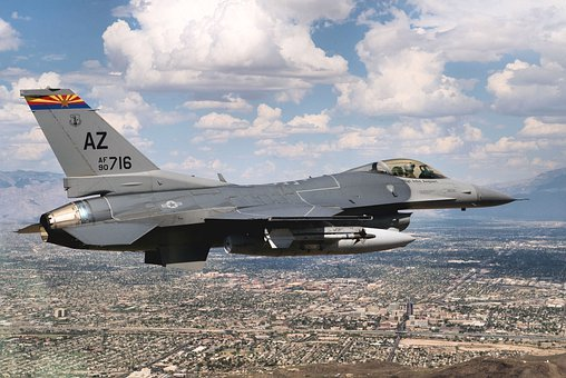 Aircraft, Jet, Fighter, F-16c, Fighting Falcon