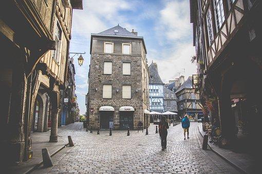 Dinan, Médieval, Middle Ages, Architecture, Heritage