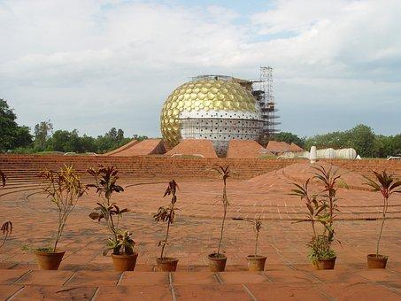 India, Pondichéry, Auroville, Pondichery, Ashram