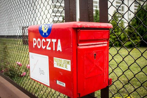 Email, Mailbox, Polish Post Office, Letter