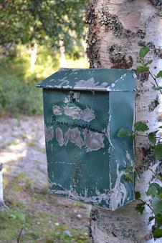 Norway, Mailbox, Rustic, Old, Antique, Village