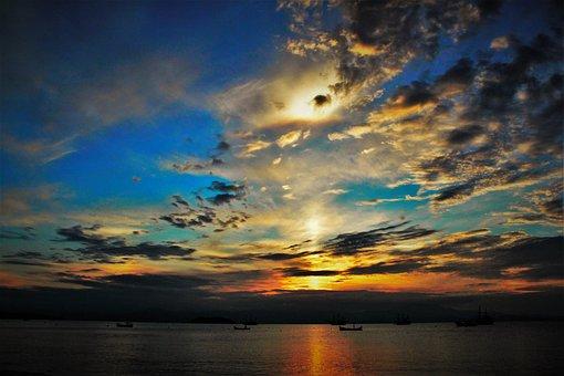 Ceu, Colors, Brightness, Natura, Lake, Sky, Color