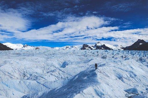 Glacier, Patagonia, South Pole, Nature, Snow, Argentina