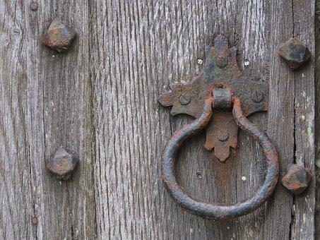 Knocker, Handle, Old, Doorknob, Entrance, Antique, Door