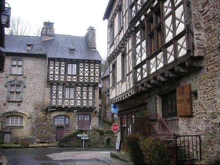 Medieval, Village, Medieval Town, Houses, Old
