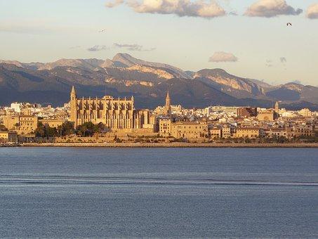 Mallorca, Palma De Mallorca, Palma, Cathedral, City