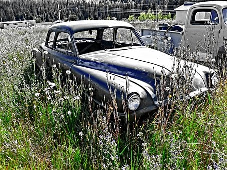 Rusty, Old Timer, Old Car, Olds Mobile, Automobile