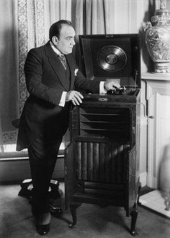 Phonograph, Sound Recorder, Enrico Caruso, Victrola
