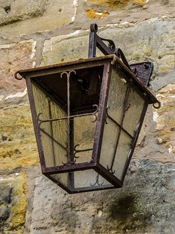 Lantern, Old, Middle Ages, Lamp, Street Lighting, Light