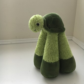 Turtle, Stuffed Animal, Stuffed, Animal, Toy, Cuddly