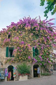 Lake Garda, Italy, Sirmione, Architecture, Tourism