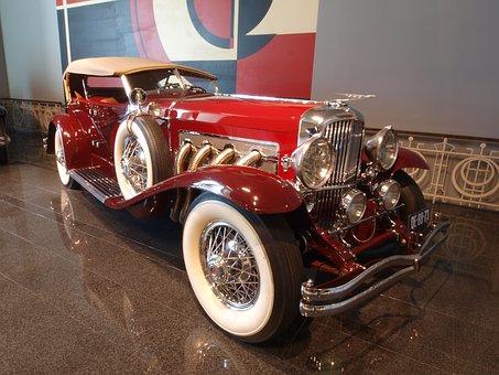 Duesenberg 1935, Car, Automobile, Vehicle