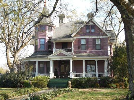 Victorian, House, Old, Architecture, Victorian House