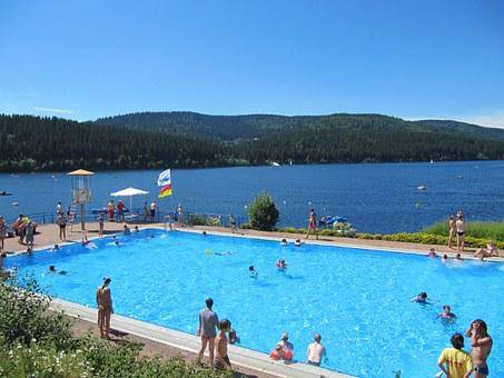 Schluchsee, Swimming Pool, Access To The Lake