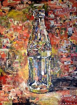 Coca Cola, Art, Graffiti, Atlanta, Georgia, Beverage