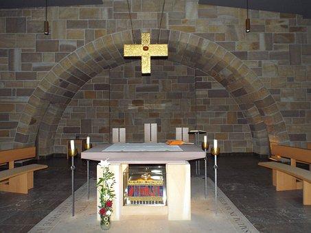 Münsterschwarzach Abbey, Münsterschwarzach, Crypt