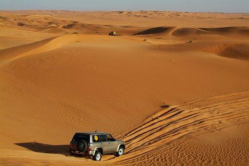 Rally Off-road, Sahara, Desert, Sand, 4x4