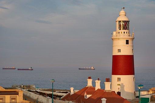 Lighthouse, Evening Light, Evening Sun, Sunset