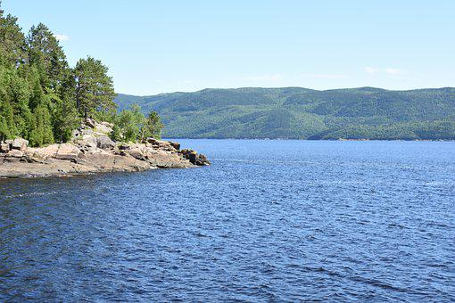 Nature, Plein-air, Summer, Fjord, Outdoor