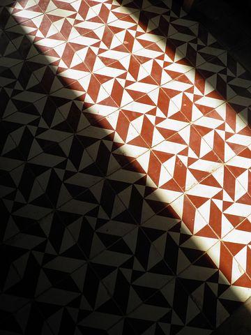 Floor, Tiles, Tesselated, Light, Design, Pattern