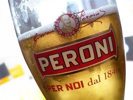 Glass Of Beer, Italian Trademark, Fresh Drink