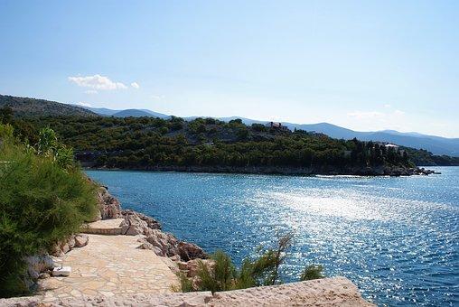 Croatia, Sea, Sun, Holiday, Water, Blue, Relax