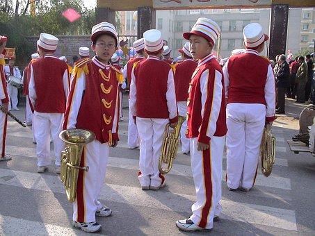 Musicians, Orchestra, Music, Personal, Human, China