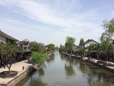 Xitang, The Ancient Town, Building, China, Jiaxing