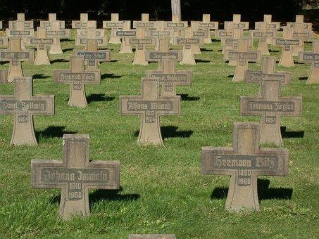 Cemetary, Veterans, Veteranenfriedhof, Bruehl, Memorial