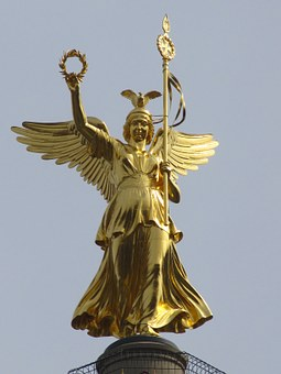 Peace Column, Berlin, Gold Else, Monument