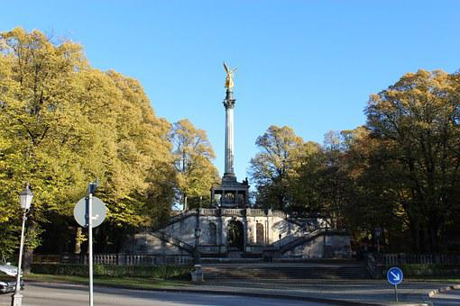 Angel Of Peace, Munich, City, Monument, Germany