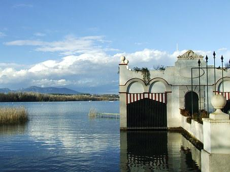 Lake House, Lake, House, Banyoles, Nature, Catalonia