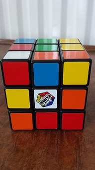 Rubix, Cube, Game, Toy, Play, Colorful, Activity