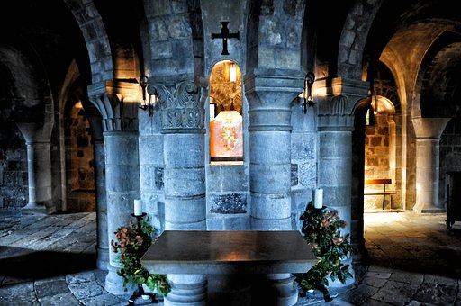 Germigny Meadowsweet, Crypt, France, Basilica, Religion